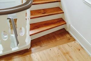 Aufarbeitung Treppengeländer